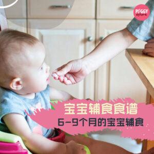 【宝宝辅食】6-9个月的宝宝辅食吃什么? 怎么吃? 以及注意事项!